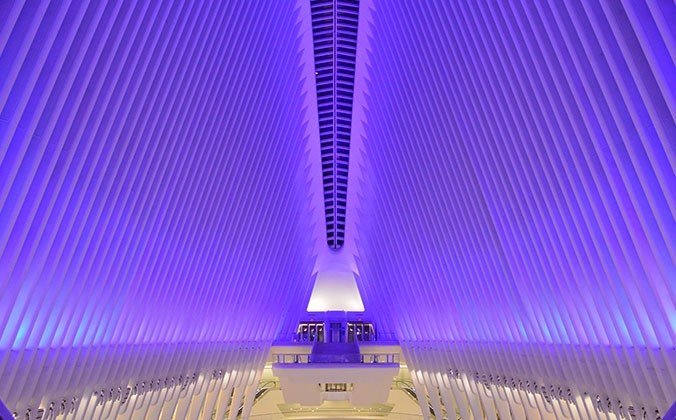 Oculus Lit Up Purple